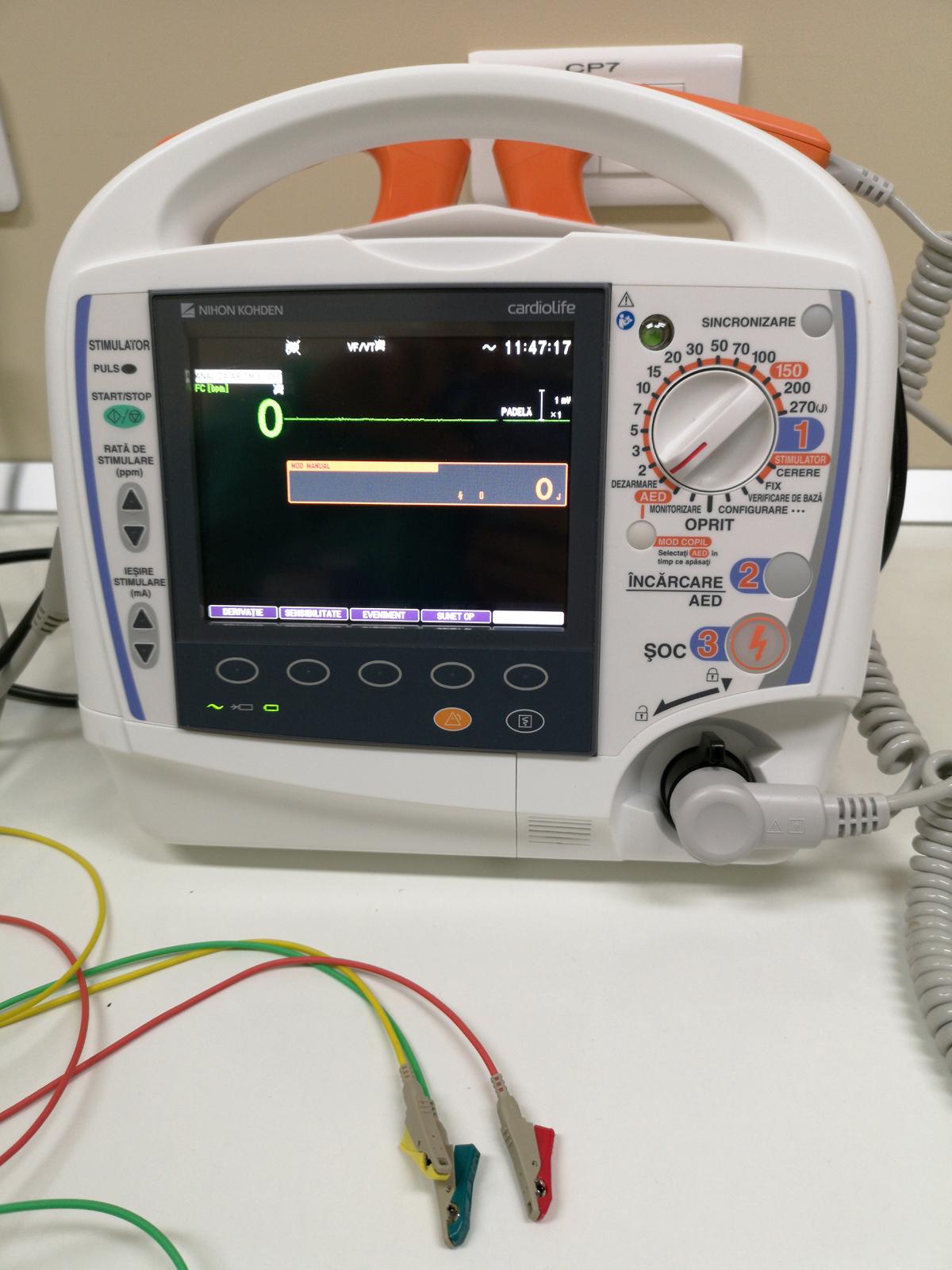 Defibrilator Tec 5631 Nihon Kohden