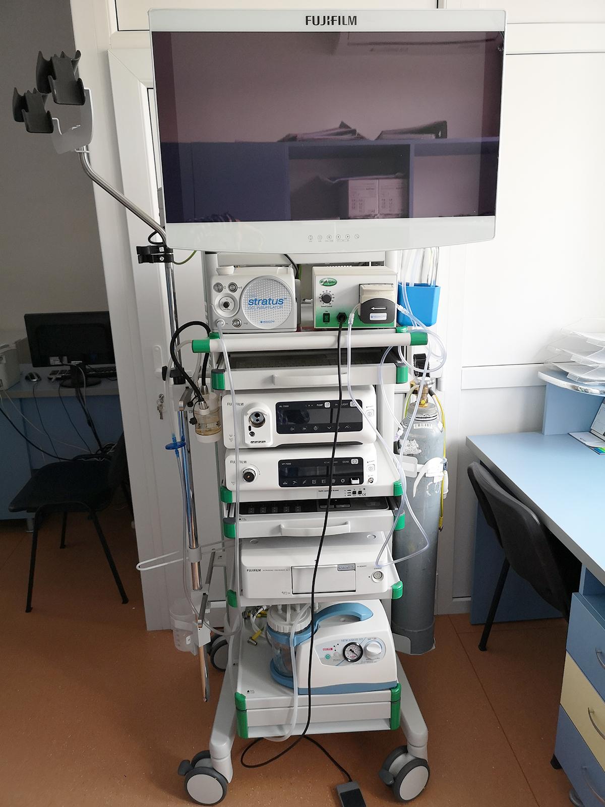 Sistem complet video eco-endoscopie Eluxeo Fuji